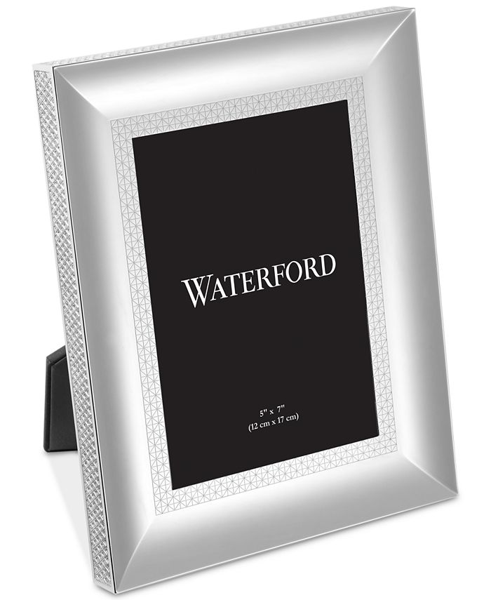 "Waterford - Lismore Diamond Silver 5"" x 7"" Frame"