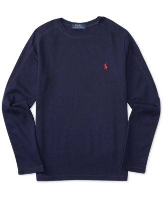 Image of Ralph Lauren Thermal Long-Sleeve T-Shirt, Big Boys (8-20)
