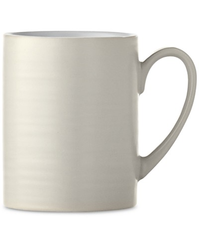 New! Martha Stewart Collection Heirloom Gray Mug, Created for Macy's