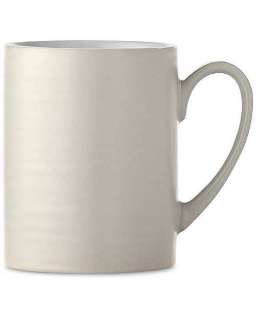Martha Stewart Collection New! Heirloom Gray Mug, Created for Macy's