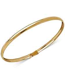 Children's Flex Bangle Bracelet in 14k Gold