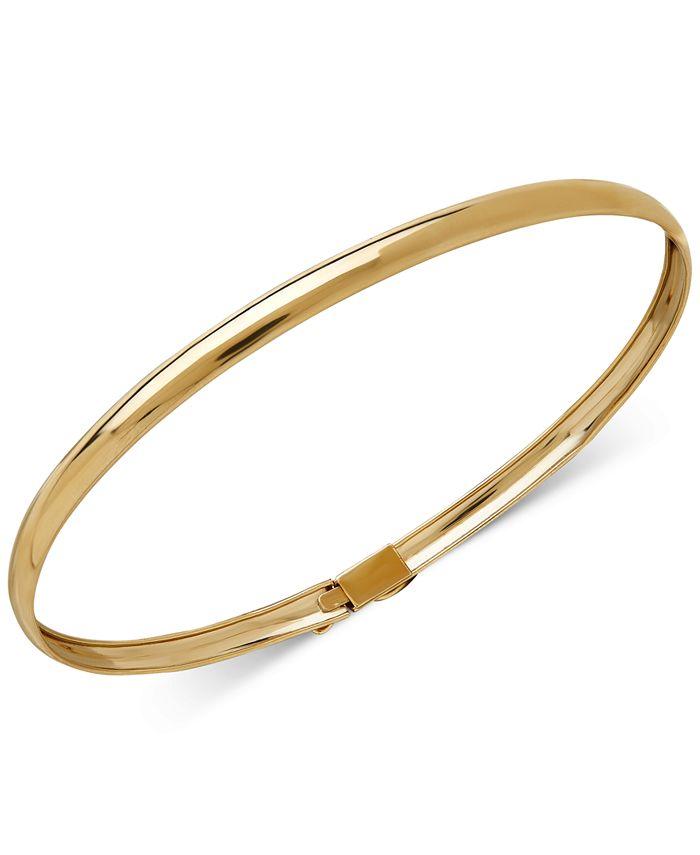 Macy's - Children's Flex Bangle Bracelet in 14k Gold