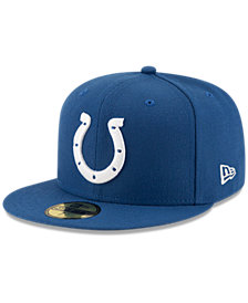 New Era Indianapolis Colts Team Basic 59FIFTY Fitted Cap