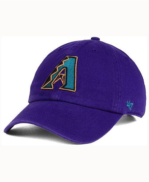'47 Brand Arizona Diamondbacks Cooperstown CLEAN UP Cap