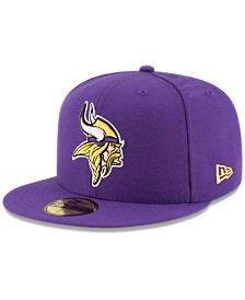 New Era Minnesota Vikings Team Basic 59FIFTY Fitted Cap