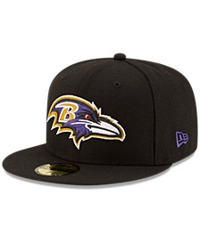 Baltimore Ravens Team Basic 59FIFTY Fitted Cap