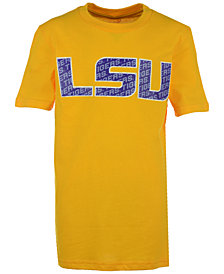 Outerstuff Kids' LSU Tigers Wordplay Logo Fill T-Shirt, Big Boys (8-20)