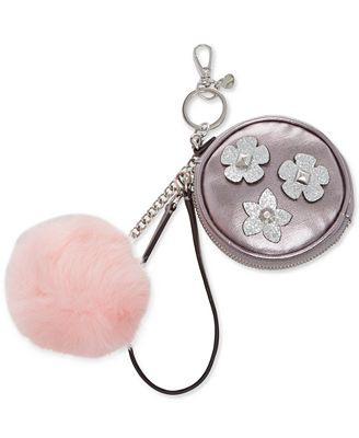 GUESS Liya Mix Match Pom Pom Pouch