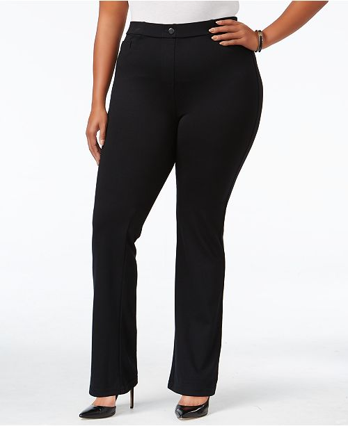 Style & Co Plus Size Bootcut Pants, Created for Macy's