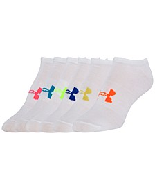 Women's 6 Pack Liner No Show Socks