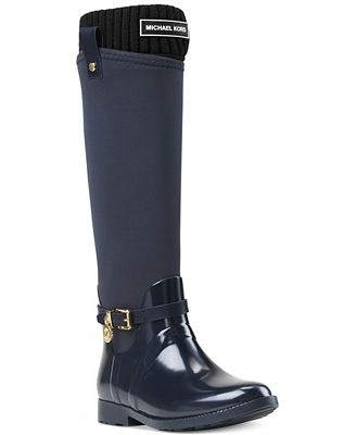 MICHAEL Michael Kors MK Tall Ribbed Socks