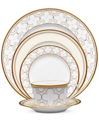 Trefolio Gold 5-Piece Place Setting