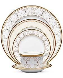 Trefolio Gold 5-Piece Place Setting