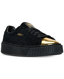 Puma Women's Platform Casual Sneakers from Finish Line