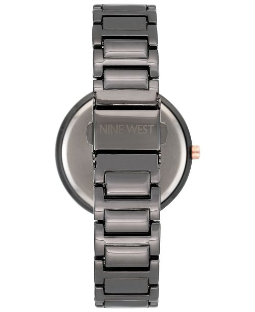 Nine West. Women s Gunmetal Bracelet Watch 36mm NW-1893GNRT. Be the first  to Write a Review. main image  main image  main image ... babfac876f