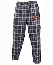 Concepts Sport Men's Cleveland Browns Ultimate Flannel Sleep Pants