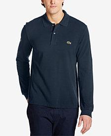 Lacoste Men's Long Sleeve Pique Polo