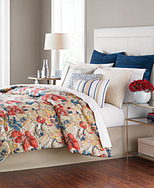CLOSEOUT! Martha Stewart Collection Grasmoor Hill 14-Pc. Queen Comforter Set, Created for Macy's
