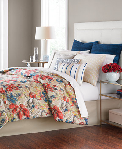 CLOSEOUT! Martha Stewart Collection Grasmoor Hill 14-Pc. Comforter ...