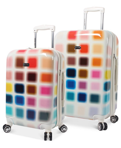 CLOSEOUT! Steve Madden Cubic Hardside Spinner Luggage