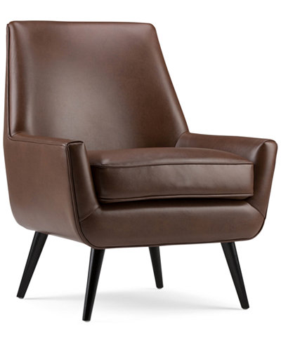 Barre Mid Century Accent Chair, Quick Ship