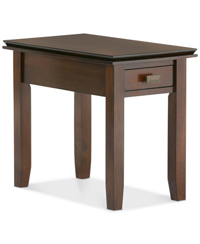 Bellevue Narrow Side Table, Quick Ship