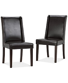 CLOSEOUT! Tanley 2 Pack Deluxe Dining Chair, Quick Ship