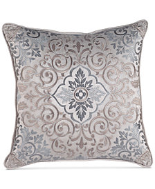 "Croscill Gabrijel 16"" Square Decorative Pillow"