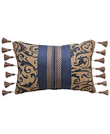 "CLOSEOUT! Croscill Sebastian 19"" x 13"" Decorative Pillow"