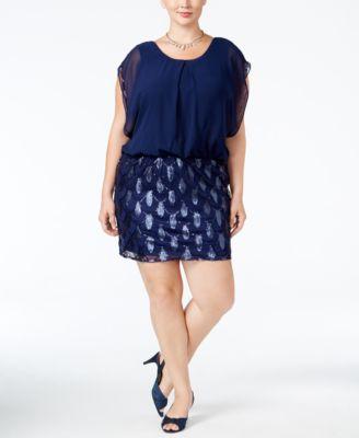 Plus Size Sequin Dress: Shop Plus Size Sequin Dress - Macy's