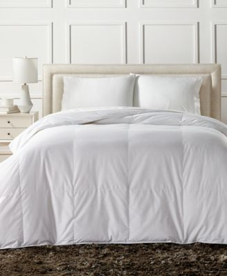 European White Down Lightweight Twin Comforter, Created for Macy's