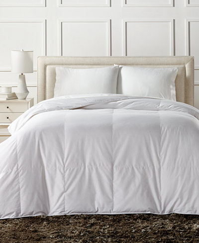 Charter Club European White Down Lightweight King Comforter, Created for Macy's