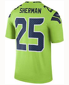Nike Men's Richard Sherman Seattle Seahawks Legend Color Rush Jersey