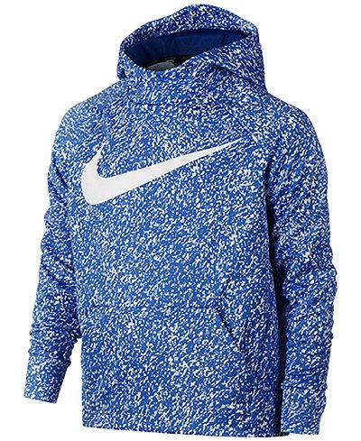 Nike Boys' Therma Dri-FIT Swoosh Hoodie
