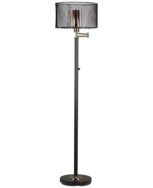 Dale Tiffany Hardy Bronze Floor Lamp