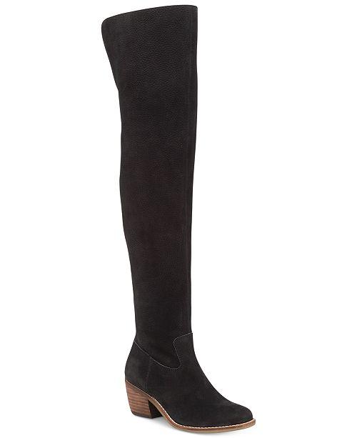 bd40be214b3 ... Lucky Brand Women s Khlonn Block-Heel Over-The-Knee Boots ...