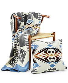 Pendleton Silver Bark Knit Throw and Decorative Pillow Collection