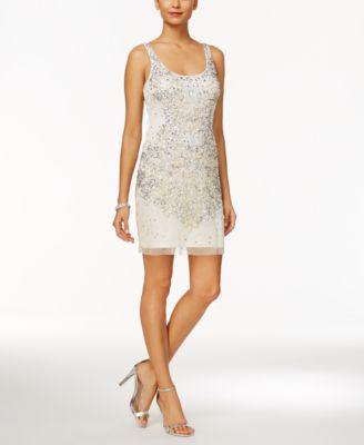 Beaded Sheath Dresses