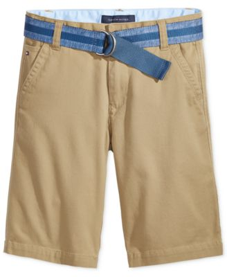 Image of Tommy Hilfiger Dagger Twill Shorts, Little Boys (2-7)