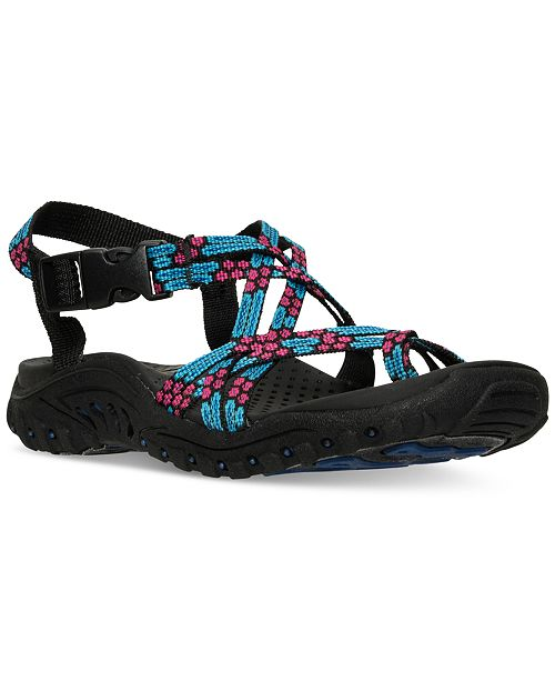 19bb3a0994a0 Skechers Women s Reggae Loopy Sport Sandals from Finish Line ...