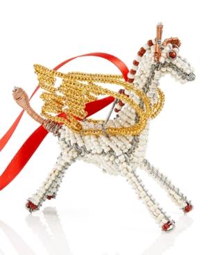 Image of Global Goods Partners Flying Giraffe Ornament
