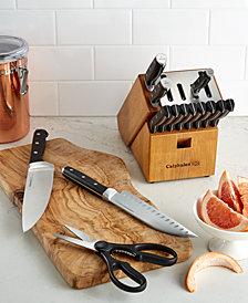 Calphalon Classic SharpIN Self Sharpening 15-Pc. Cutlery Set, Created for Macy's