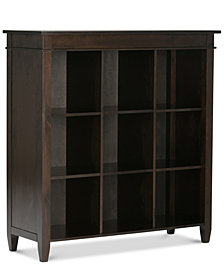 Thompson Nine Cube Bookcase, Quick Ship
