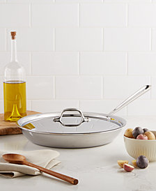 """All-Clad Stainless Steel 12"""" Covered Fry Pan"""