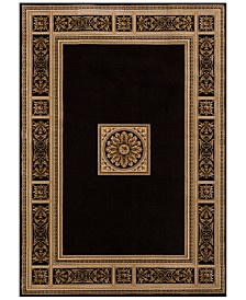 KM Home Sanford Milan Black Area Rug Created For Macys