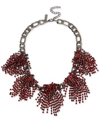 M. Haskell for INC International Concepts Rhinestone Statement Necklace, Only at Macy's