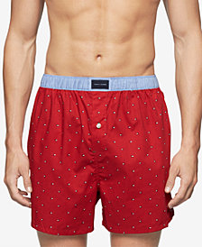 Tommy Hilfiger Men's Printed Woven Boxers