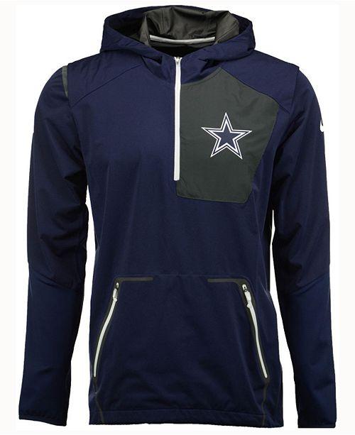 6692913dbf548 Nike Men s Dallas Cowboys Alpha Fly Rush Jacket   Reviews - Sports ...