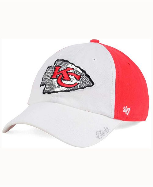 2cf982c7 47 Brand Women's Kansas City Chiefs White Sparkle Cap & Reviews ...
