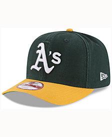New Era Oakland Athletics Vintage Washed 9FIFTY Snapback Cap